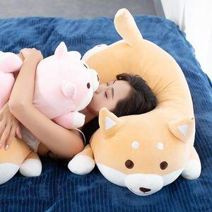 1pc Lovely Fat Shiba Inu &Corgi Dog Plush Toys Stuffed Soft Kawaii Animal Cartoon Pillow Dolls Gift For Kids Baby Children C0924