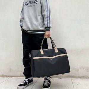 Duffel Bags 2021 Черные Мужчины Путешествия Duffle Водонепроницаемый Оксфорд Большие Сумки Сумка для Женщин Человек Томаты Большие Возможности На выходные
