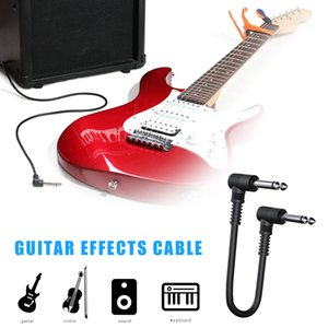 15cm Pedal Cable Cord 6.35 Electric Guitar Effect Musical Instruments Patch Wire for Music Lovers Playing Ornament