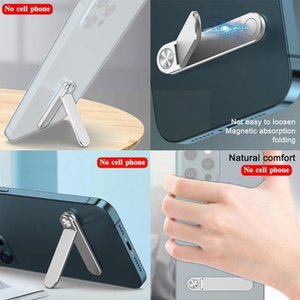 Cell Phone Mounts & Holders Folding Mobile Holder L Shaped Stabilizer Stand Aluminium Alloy For Tablet Within Bracket B6Q7