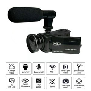 Camcorders 1080p 16x Zoom Digital Camcorder Video Camera Dv Recorder External Microphone F9a4