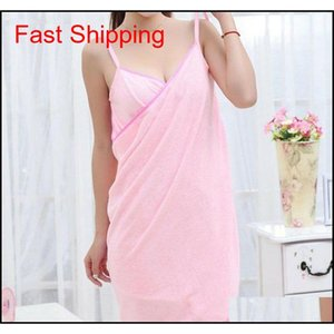 Home Textile Towelwomen Robes Bath Wearable Towel Dress Girls Women Womens Lady Fast Drying Beach Spa Magical Nightw NKt bdenet