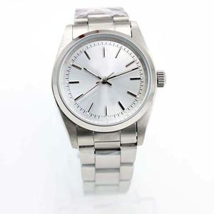 Top Luxury Menes Watch Watch Air King Series 1400 Scliver 36 мм Набор Автоматическое механическое движение 316 Стальные брендовые часы