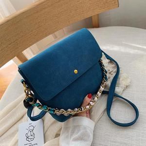 Ladies shoulder bag metal chain wallet handbag clutch bag underarm square PU leather handbag large capacity travel