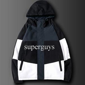 Mens Jacket Hip Hop Windbreaker fashion spring autumn casual jackets Men Women Streetwear Outerwear Coat Hip Hop Jackets JK2101