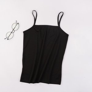 Llyge Novo sexy ultra fino mulheres camis tops spaghetti stap sólido macio mini colete 2021 verão casual respirável senhora tanques