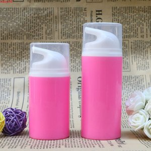 50ml 80ml Rose Plastic Airless Bottles Empty Cosmetic Containers Cosmetics Packaging bottle Makeup Tools for Shampoo Lotionshigh qualtity