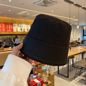 Minority designer fisherman's children's Korean spring and summer versatile cover face bell basin Bucket hat