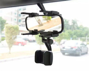 Top Seller Car Holder Car Rearview Mirror Generation 2 Phone Stand Holder General Navigation Bracket Dash Cam Fixing Clip