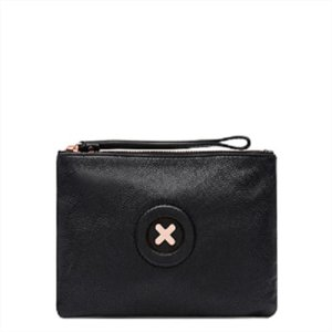 The Australia Fashion PU Leather Purse Daydream Logo 20CM X 15CM Size With Zipper And Wrist Strape