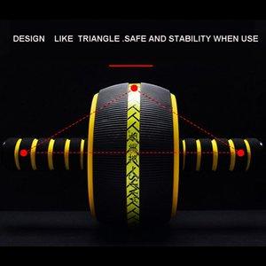 Ab Abdominal Roller Non-Slip Body Building Wheel Multifunction Exerciser Home Fitness Trainer Training Equipment