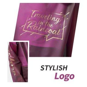 Waterproof Fiv High Quality Hooded Tpu Mens JllJUO Rain Coat Ladies Fashion Women Black Long Yuding Raincoat Design Jacket Qviwt