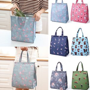 Waterproof Lunch Bags for Women Ladies Girls Adult Portable Insulated Lunch Bag Picnic Bags Tote Cooler Kids School Lunchbox New