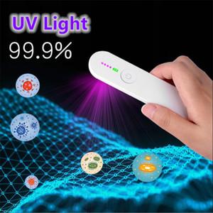 العناية الشخصية UVC ضوء UVC الأشعة فوق البنفسجية المطهر المحمولة 3 LED الأشعة فوق البنفسجية أضواء التعقيم السفر العصا uv مضيا المنزلية المرحاض سيارة الحيوانات الأليفة
