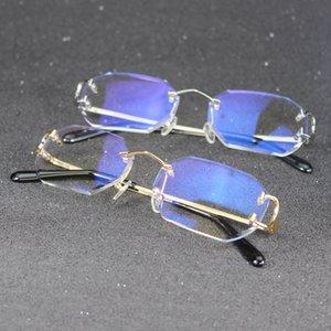 Huella digital Carter Piccadilly Borrar marco de vidrio para las gafas de lujo únicas de moda Lea la computadora Mujeres y hombres