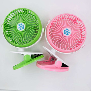 Clip USB charging mini Fan 360 degree rotation car office multifunction