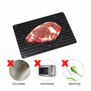 Fast Defrosting Tray Natural Thaw Food Meat thawing Fruit Sea Fish Quick Defrosting Plate Board Tray Kitchen Gadget Tool Free Shipping