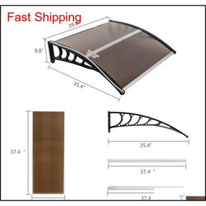 100x100cm Praktische Regenabdeckung Eauves DIY Fenster PC Markise Sonnenschutz Canopy Polycabonat Haushaltsanwendung QYLKWZ NEW_DHBEST