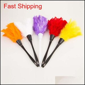 Turkey Feather Duster Computer Brush Bookcase Blinds Dusters Sexy Maid Costume Vacuum Dusting Cleaning Brush Chenille Duster Yjem0 Gt3Yo