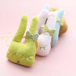 New Children Cute Cartoon Hair Accessories Spring Summer 2021 Korean Girl Bunny Ear Hairband Elastic Band Girls Hairbands C6827