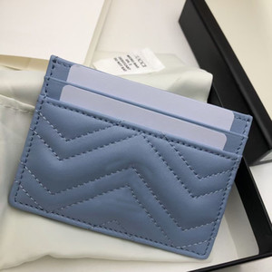top QUALITY Leather Luxurys Designers bags Fashion Womens Card Holders Black Wallets Coin Purse Pocket Interior Slot Pockets BRAND