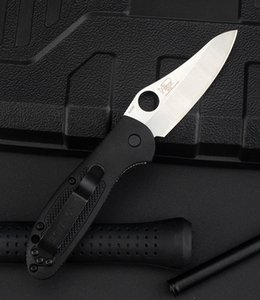 555 High Hardness Folding Knife Outdoor Folding Knife Camping Self-Defense Multi-Function Stainless Steel Fruit Knife DHL Free