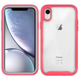 IPhone 12 Pro Telefon Kılıfları Saf Renk 11 Max XS 7 8 Artı Silikon Ekran Arka Kapak Koruyucu Kılıf