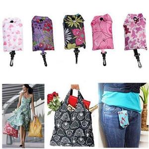 Kullanımlık Alışveriş Çantası Kılıfı Naylon Katlanabilir Çevre Dostu Alışveriş Çantaları Taşınabilir Ev Bakkal Süpermarket Alışveriş Tote WWA158
