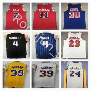 2021 Mens Basketball Dwight Howard 39 Demar DeRozan 11 Lonzo Ball 2 Jalen Suggs 4 Evan Mobley Stephen 30 Curry Stitched Blue Red White Black Yellow Jerseys