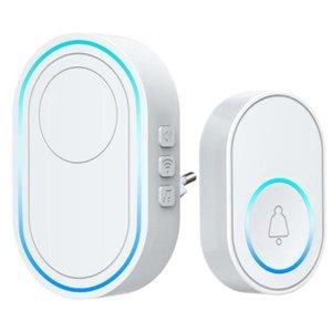 Doorbells Wireless Doorbell APP Wifi Intelligent Welcome Home Alarm System 433Mhz 300M Remote Smart EU Plug