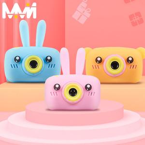 "Children Digital Camera 2"" HD Cartoon Kid Camera Mini Cam Toy Birthday Gift Children Educational Toys Camera For Girl boy"