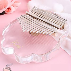 Keyboards Piano Fun to play thumb harp Karin Bach crystal transparent crystals cat claw finger pianoing beginner m-finger pianos Kalimba