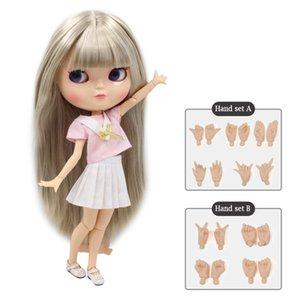 ICY Nude Nue Cook Azone Body Body Маленький грудь включает в себя ручной набор AB как Blyth BJD 11,5 дюйма 30 см куклы для девочек Бесплатная доставка 0222