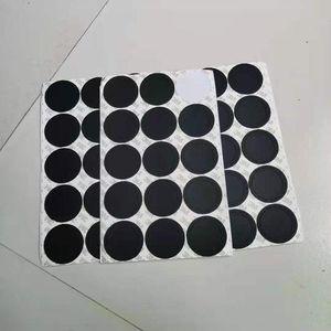 Круглый черный резиновый кабельный накладки самоклеющиеся кошка наклейки для 15 унций 20 унций 30oz Tumblers защитные нескользящие колодки