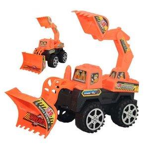 Children's Toy Excavator Engineering Car Inertia Baby Puzzle Boy