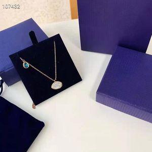 Tasarımcı kolye takı kolye moda boyun erkek kadın kolye için jewel son derece kalite kutusu ile