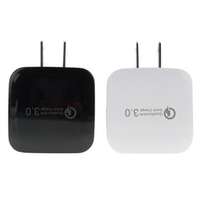 QC3.0 USB Wall Charger 5V 2.4A Quick Charge Charging Travel Power Adapter Home US EU Dock For Samsung S5 S6 S7 S10