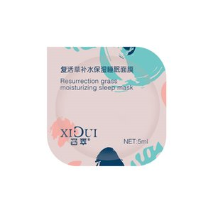 2021 Two color Dual effect Repairing Sleep Mask That Does Not Need To Be Rinsed Can Continuously Nourish Womens Masks and Wake Up Water Mask