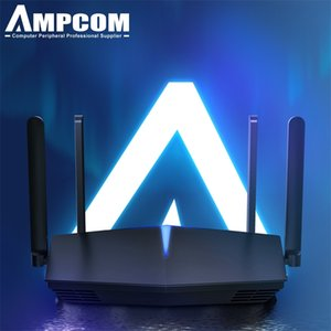 AMPCOM Wifi6 Router AX1800 Smart WiFi 5-core 2.4G 5.0 GHz Full Gigabit 5G Dual-frequency Home 210918