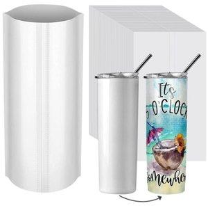 Sublimation shrink wrap film bag 100pcs lot Packaging Paper for Skinny Tumbler Regular Wine glass135*260mm 180*290mm 170*255mm