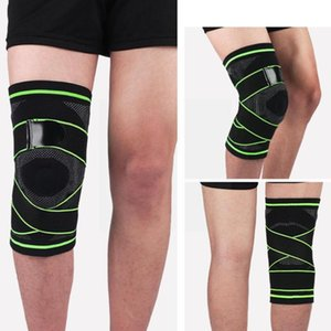 Elbow & Knee Pads 1pcs Sport Strap Cycling Braces Kneecap Patella Pad Joints Volleyball Support Basketball 2021 Protector R1r5