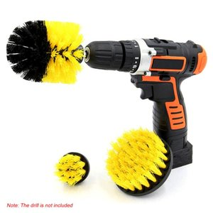 2 3 4 5inch Drill Brush - Soft Medium Attachment Scrub Cleaning Kit for Pool Tile Flooring Brick Ceramic Marble Grout and Much M