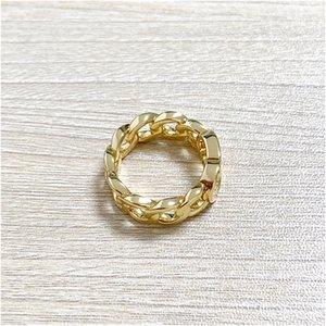 2021 d النحاس خاتم الزواج الذهب خواتم للنساء بسيط الأزياء الحب البوهيمي مجوهرات للنساء مع صندوق