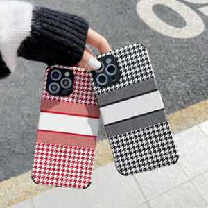 Fine hole TPU Phone Case With Letters patterns For iPhone 12 11 Pro Max Mini XS X XR 7 8 Plus Four corners protection