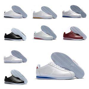 2021 mejores zapatos de cortez nuevos para hombre zapatos para mujer zapatillas de deporte de cuero atlético barato Cortez Cortez zapatos de caminata Venta 36-44 K248