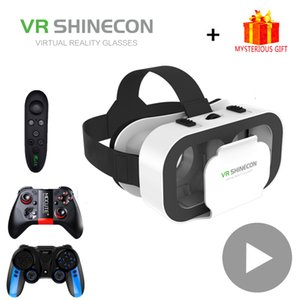 VR Shinecon Helmet 3D Glasses Virtual Reality For Smartphone Smart Phone Headset Goggles Casque Wirth Viar Binoculars Video Game