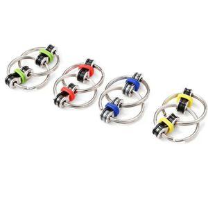 Stress Relief Toys Set Roller Chain Key Flippy Chain Novelty Bike Chain Fidget Toys for Children Pressure Relief Classroom Office School