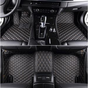 Custom 5 Seat car floor mats for audi all models audi TT S3 S4 S5 Sportback S6 S7 S8 SQ5 RS 2000-2020 car mats auto accessories