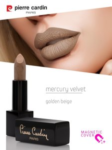 Pierre Cardin Paris Mercury Velvet Lipstick Luxury Professional Full Coverage Face Makeup Cosmetics - Beauty Tools Lip Stick