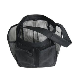 Multifunctional Travel Hanging Plastic Mesh Bathroom Bag Toiletry Storage Kit Travel Organizer Waterproof Bathroom Wash Bag FC4